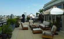 Soho Grand Hotel Terrace